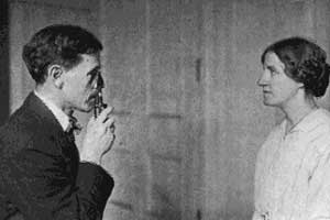 Dr W H Bates Treating One of His Patients
