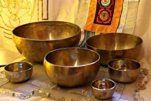 Chakra Sound Healing with Antique Handmade Tibetan Singing Bowls