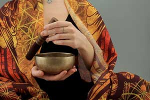 Chakra Sound Healing with Antique Handmade Tibetan Singing Bowls