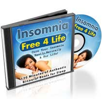 Insomnia Free 4 Life™ 120 Minutes Binaural Beats Audio CD